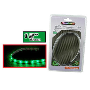 "Audiopipe Pipedream 12"" Led Flexible Strip Green"