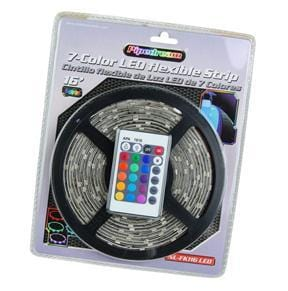 Nippon 16ft Led Flexible Strip 7 Colors With Splicers