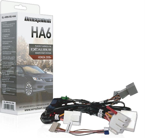 Excalibur Plug&play Harnesscovers Select Acura & Honda Pts Models 2013+