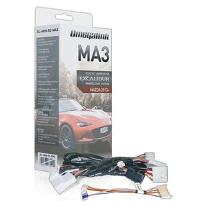 Excalibur Plug&play Harnesscovers Select Push-to-start Mazda Models 2013+