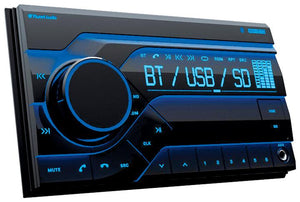 Planet Double Din Digital Media Receiver Am-fm Bluetooth Usb Front Aux