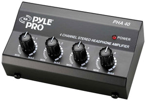 Pyle Headphone Amplifier