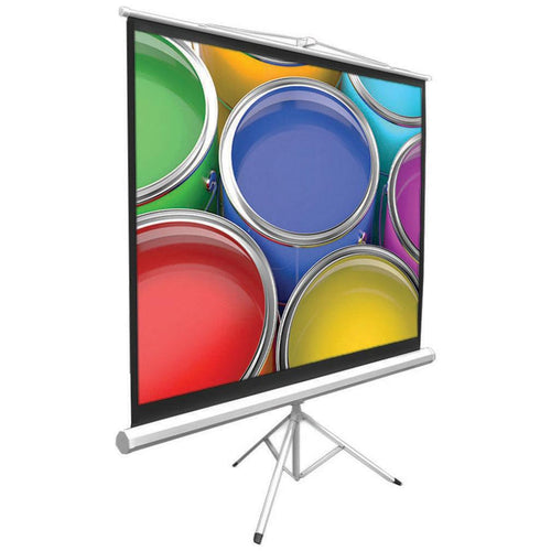 Pyle 72-inch Floor Standing Portable Tripod Projector Screen