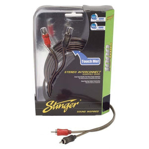 Stinger 12ft 1000 Series 2ch Coaxial Rca