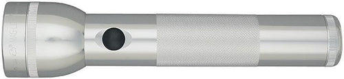 Maglite 2 Cell D  Led Flashlight Silver
