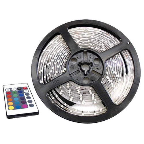 Streetvision 9ft (3m) 20-color 5050 Led 12 Volt Application Only.