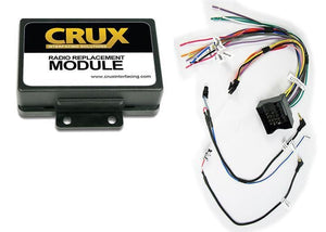 Crux Radio Replacement With Swc Retention For Volkswagen Vehicles