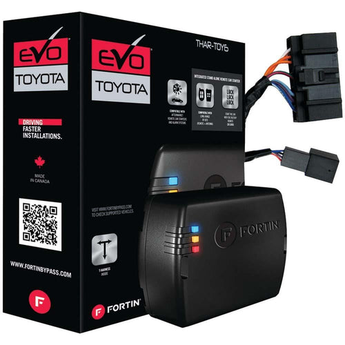 Fortin T-harness For Select Toyota-lexus Push-to-start Vehicles; Compatible With Evo-all & Evo-one