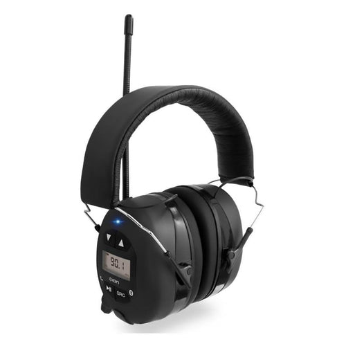 Ion Tough Sounds Hearing Protection Headphones With Bluetooth & Radio (toughsoundsxca)