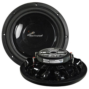 "Audiopipe 12"" Shallow Mount Woofer 500w Max 4 Ohm Dvc"