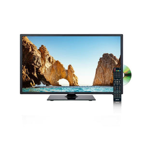 Axess 19 Inch Led 720p Hdtv Dvd Combo 1xhdmi Headphone Inputs Dvd Player Remote