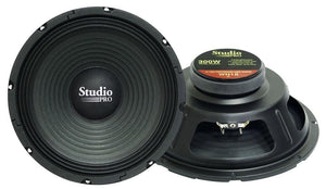 "Woofer 10"" Pyramid 300watts 8 Ohm;studio Pro Series"