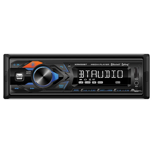 Dual Single Din Mechless Bluetooth Usb And Aux Digital Receiver