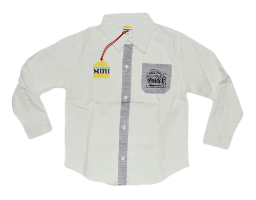 Boys White Dress Shirt