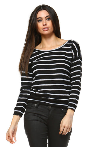 Women's Stripe Sweater