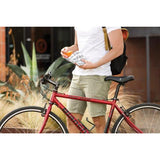 Reusable Velcro Sandwich Bag - Charcoal Bicycle