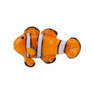 Art Glass Magnet: Clownfish