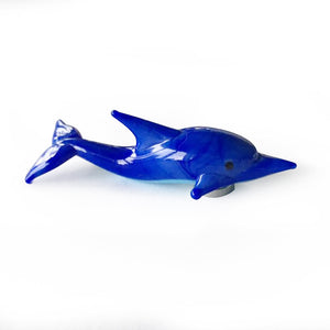 Art Glass Magnet: Dolphin