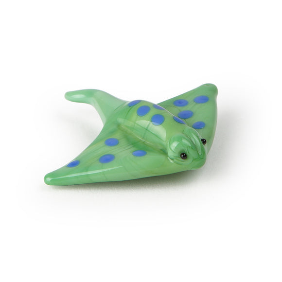 Art Glass Magnet: Stingray