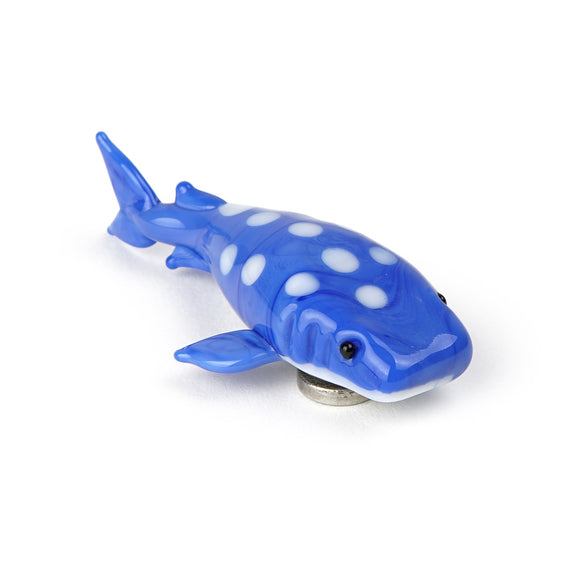 Art Glass Magnet: Whale Shark