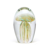 Art Glass Paperweight: Jellyfish Baby