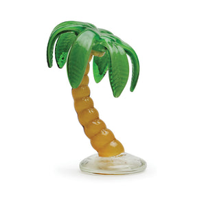 Art Glass Figurine: Palm Tree