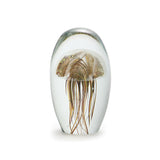 Art Glass Paperweight: Jellyfish
