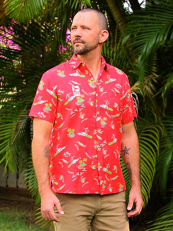 Kahala  World Famous Aloha Shirt