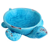 Aqua Ceramic Turtle Dish