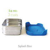 Blue Water Bento Splash Box™ Leak-proof Lunchbox
