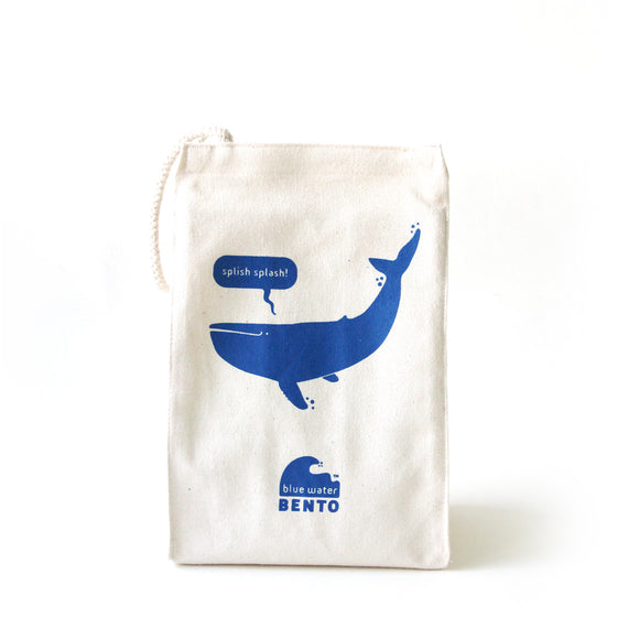 Blue Water Bento Whale Lunchbag