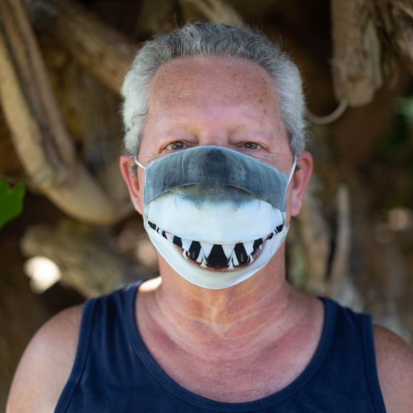 Adult Face Mask - Shark