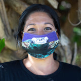 Adult Face Mask - Sea Turtle