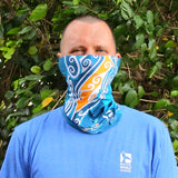 Face Mask Gaiter Humpback Whale UPF