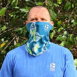 Whale Tail Face Mask Gaiter UPF