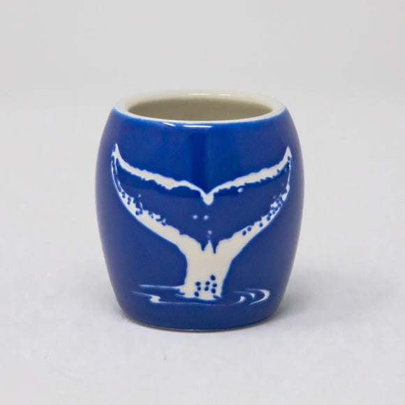 Pacific Whale Foundation Custom Etched Shot Glass - Whale Tail