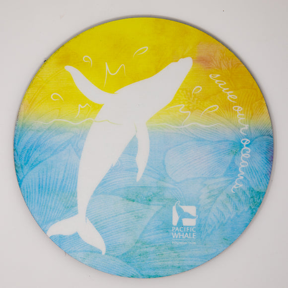 Pacific Whale Foundation Mouse Pad - Whale
