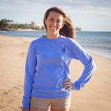 Square Whale Tail Long-Sleeve T-Shirt