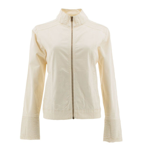 Womens jacket military style organic cotton