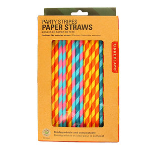 Party Pack Paper Straws 144 Count