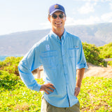 Men's Tamiami II Long Sleeve Shirt - Sail Blue