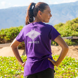 Women's Short Sleeve Tahiti Manta Ray T-Shirt