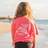Youth Short Sleeve Tahiti Whale T-Shirt