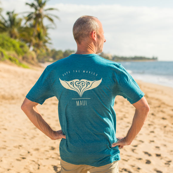 Pacific Whale Foundation New Fluke T-Shirt