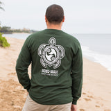 Men's Tahiti Turtle (HONU) Long Sleeve T-Shirt