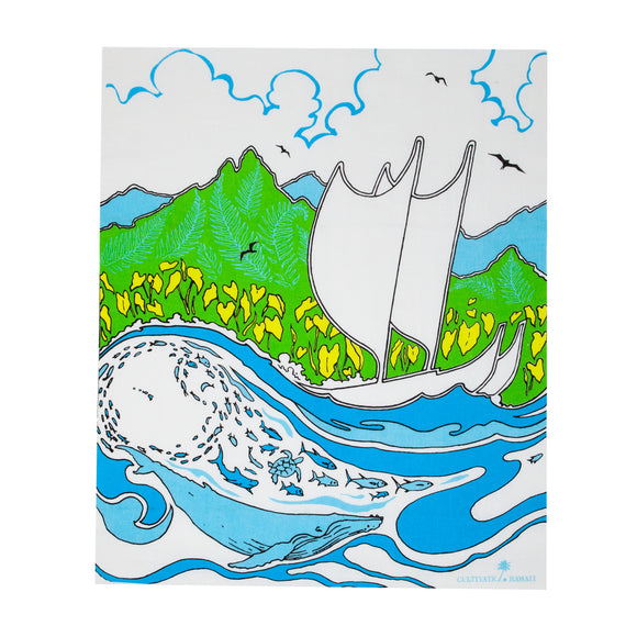 Hawaiian Tea Towels - Moana