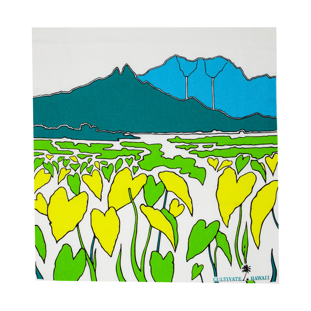 Hawaiian Tea Towels - Kalo