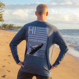 Pacific Whale Foundation Flaggard Long Sleeve T-Shirt
