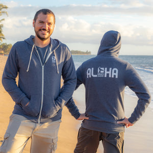 Pacific Whale Foundation Full-Zip Aloha Hoodie