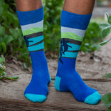 Men's Socks - Midnight Breach
